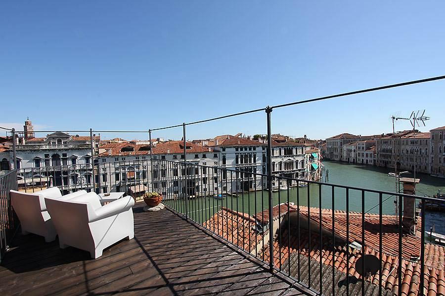 Apartamento Grand Canal Loft Terraza Vista Canal Grande